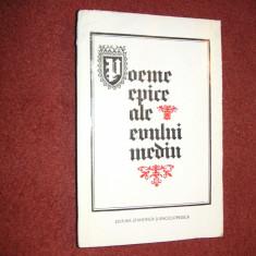 Poeme epice ale Evului Mediu - Carte Cultura generala