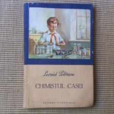 Chimistul casei leonid petrescu carte stiinta hobby editura tineretului 1955