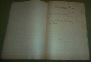 caiet dictando Libraria Noastra Steaua Rosie perioada RPR