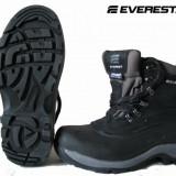 Bocanci Everest Made in Suedia, noi, foarte rezistenti si caldurosi, 40.5, Din imagine, Piele naturala