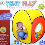 Cort de joaca copii cu 50 de bile - Casuta copii