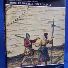 CRISTIAN VLADESCU - ARME IN MUZEELE DIN ROMANIA - 1973 - 2.910 EX. - Album Muzee