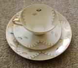 Set / Serviciu - mic dejun - portelan Bavaria - Seltmann Weiden - 1960, Decorative