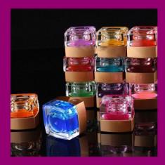 SET 12 geluri unghii gel UV+ Cadou