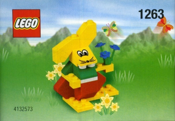 LEGO 1263 Easter Bunny foto mare