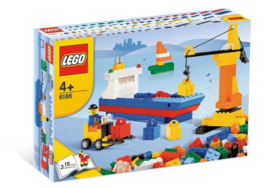 LEGO 6186 Build Your Own Harbor foto mare