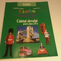 Limba engleza Caietul elevului pentru cls a III a - Ecaterina Comisel - Manual scolar corint, Clasa 3, Corint, Limbi straine