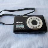 CAMERA FOTO NIKON COOLPIX S2500 DEFECTA . - Aparat Foto compact Nikon