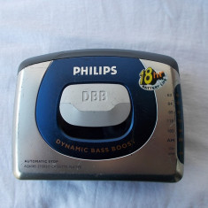 CASETOFON PHILIPS AQ6585 STEREO, FUNCTIONEAZA .
