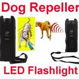 Dog Chaser dispozitiv cu ultrasunete pentru alungat cainii