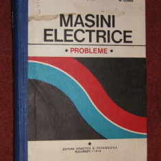 Masini Electrice - Probleme - C. Bala, L. Togui, M. Covrig - Carti Electrotehnica