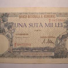 100000 lei 1946 Mai 2 - Bancnota romaneasca