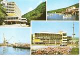 CPI (B5853) BAILE HERCULANE. HOTELUL ROMAN, LACUL VALIUG, MOLDOVA VECHE, RESITA