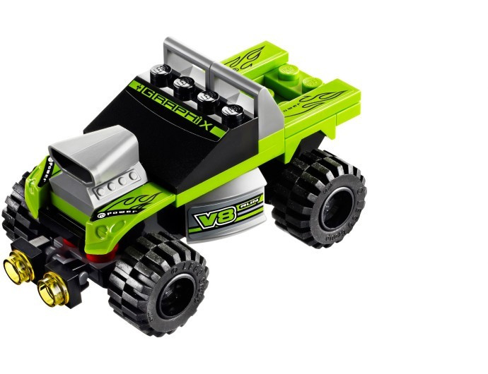 LEGO 8192 Lime Racer foto mare