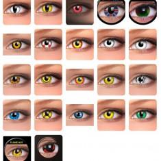 Lentile de contact colorate pentru HALLOWEEN