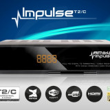 Decodor / Receiver/ Receptor/ Amiko Impulse T2/C FULL HD/ WI-FI /cablu RDS RCS