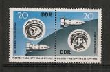 D.D.R.1963 Cosmonautica:Vostok 5 si 6-pereche  CD.676, Nestampilat