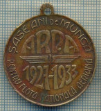 ATAM2001 MEDALIE VECHE 838 - ARPA- PENTRU FLOTA AERIANA1927-1923-REGELE CAROL II