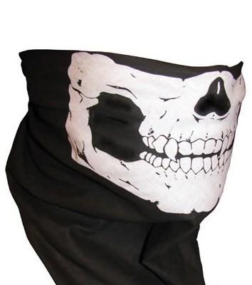 masca protectie fata cu imprimeu craniu , pentru paintball, ski, , airsoft, moto foto mare