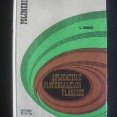S. HORUN - APLICATIILE MATERIALELOR PLASTICE