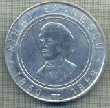 ATAM2001 MEDALIE 898-CENTENAR MIHAI EMINESCU 1889-1989BRAILA-starea care se vede