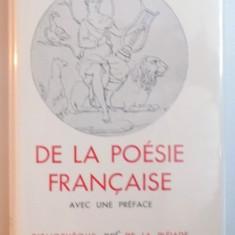 ANTHOLOGIE DE LA POESIE FRANCAISE par ANDRE GIDE, BIBLIOTHEQUE DE LA PLEIADE 1949 - Carte in alte limbi straine