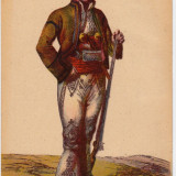 LUNA CADOURILOR -50 % CP DOROBANT DIN TARGOVISTE SEC. XIX ; CIRCULATA - Carte Postala Muntenia dupa 1918, Fotografie