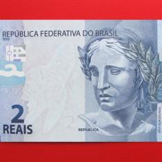 BRAZILIA - 2 Reais 2010 - UNC - bancnota america