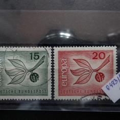 Serie completa timbre Germania-Deutsche Bundespost -1965-MC483 - Timbre straine, Stampilat