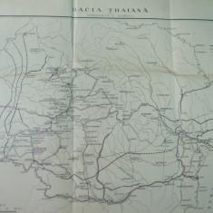 Dacia traiana harta Constantin Giurescu