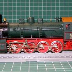 Locomotiva abur BR5216 scara HO(3823) - Macheta Feroviara, 1:87, Locomotive
