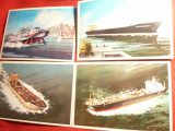 Set 9 Ilustrate - Fotografii de autor - NAVE -1979 URSS, Necirculata, Fotografie