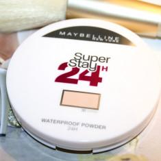 PUDRA CU REZISTENTA LA APA MAYBELLINE SUPERSTAY 24 H WATERPROOF POWDER 30 SAND, Compacta