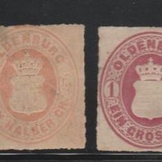 Oldenburg - state germane - timbru nestampilat - 1862 neuzate