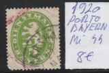 Dienstmarke Bayern - timbre stampilate si nestampilate - 1920