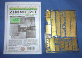 + Set 1/35 Eduard 35379 - Zimmerit pt Elefant (pt. Dragon) +