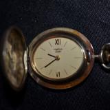PANDANTIV CEAS PALLAS - STOWA - Mecanic - 17 rubine - Medalion - Aurit - Vintage