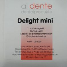 Cuptor fotopolimerizare linguri/sabloane AL DENTE - Echipament cabinet stomatologic