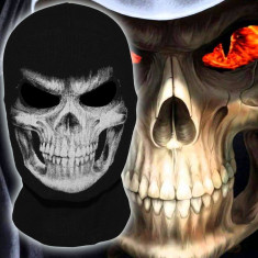 Masca Cagula Grim Reaper Skull Ghost ski snowboard motor party Halloween +CADOU! - Masca carnaval, Marime: Marime universala, Culoare: Din imagine