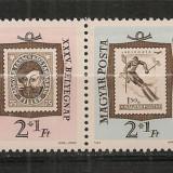 Ungaria.1962 Ziua marcii postale-streif PP.264, Nestampilat