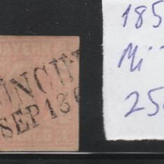 Bayern - timbru stampilat - Mi. nr.: 3 - 1850, Nestampilat