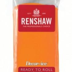 Pasta de zahar (fondant / icing / martipan) PORTOCALIU, Renshaw Pro Anglia - Produse pentru copt