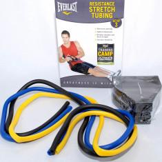 Everlast - Extensor reglabil cu tuburi din cauciuc - 5 nivele de intensitate - - Extensor Fitness