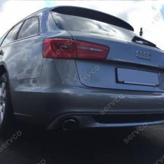 Prelungire difuzor bara spate Audi A6 4G C7 2011 – 2014 ABT Sline Avant - Prelungire bara spate tuning