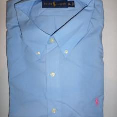 Camasa originala Polo Ralph Lauren - barbati L, XL - colectia 2015 - Camasa barbati Polo By Ralph Lauren, Culoare: Albastru, Maneca lunga