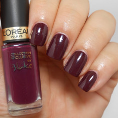 OJA L`OREAL PARIS COLOR RICHE COLLECTION EXCLUSIVE BLAKE`S PURE RED BURGUNDY