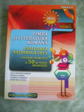 LIMBA SI LITERATURA ROMANA  EVALUARE NATIONALA ,NOTIUNI TEORETICE 50 TESTE