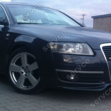 Prelungire Difuzor bara fata Audi A6 C6 2004 2009 S Line S6 RS5 S-line ver1 - Prelungire bara fata tuning, A6 (4F2, C6) - [2004 - 2011]