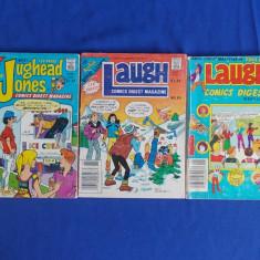 LOT 3 REVISTE BENZI DESENATE : ARCHIE DIGEST LIBRARY - 1981/1987