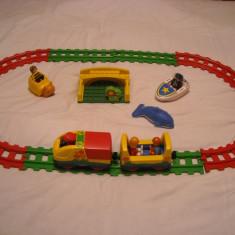 Playmobil 1-2-3 - set trenulet mobil pentru 1an+, Seturi complete